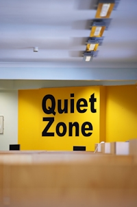 Image of Library Silent Zone